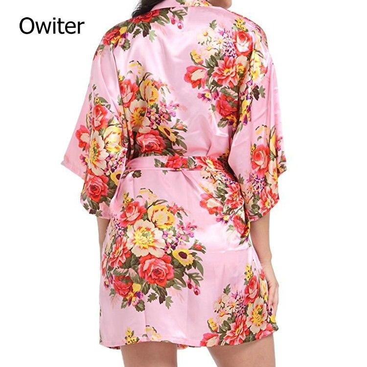 Dressing Gown mariage mariée demoiselle d/'honneur Kimono Personnalisé Ladies Satin Robe