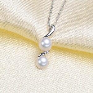 Ustawienia wisiorek z pereł, modne podstawy ustawienie zawieszki ze srebra próby 925 wisiorek biżuteria DIY dokonywanie bez perły bez łańcucha