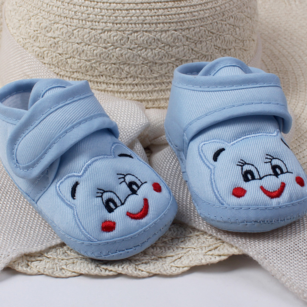 Baby Girl Boy Soft Sole Cartoon Anti-slip Shoes Toddler Shoes