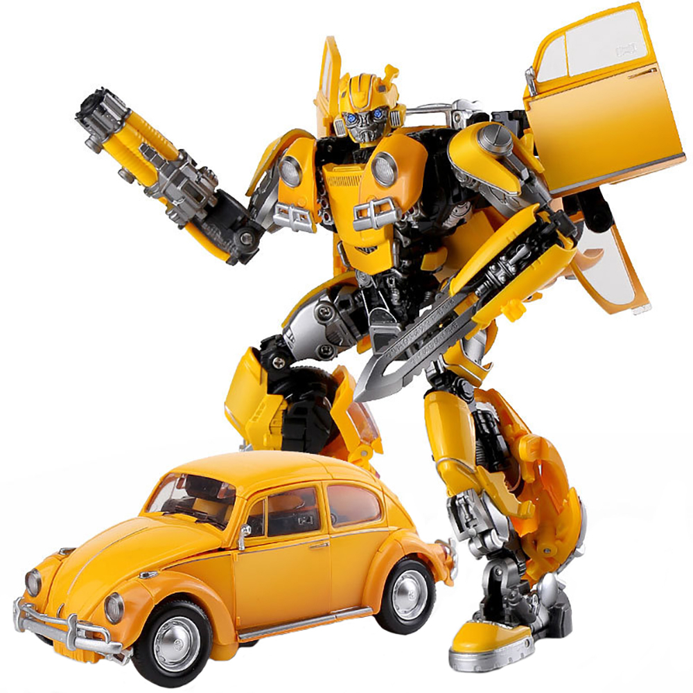 BMB LS-07 LS07 Transformation Action Figure Toy Bee Movie Model 17cm ABS Alloy KO MPM7 MPM07 Deformation Car Robot