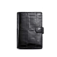 afanzhe crocodile leather Thailand male wallet Guard against theft buckles Brief paragraph multi function Male small purse