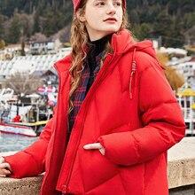 SEMIR Down jacket women 2019 new little devil short
