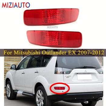 Rear Tail Bumper Reflector Light For Mitsubishi Outlander EX 2007 2008 2009 2010 2011 2012 8352A005 8337A015 Stop Brake Fog lamp