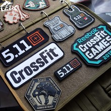 CrossFit 5.11 Military PVC Tactical Patches Embroidery Emblem Applique