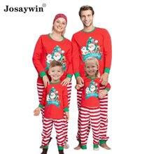 2020 рождественские пижамы для всей семьи комплект взрослых