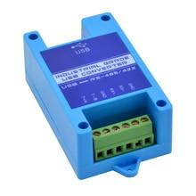 Usbに232 485 422工業用グレードシリアルコンバータに2ポートRS485 usb雷保護サポートWIN7/8/10