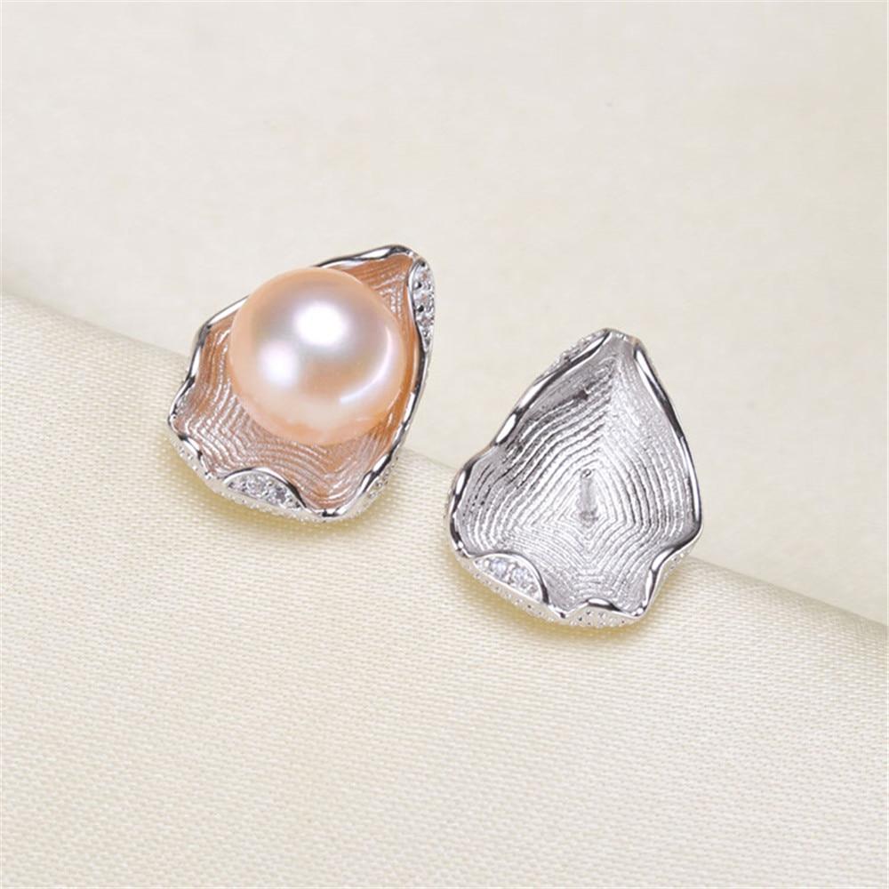 Pearl Earrings Fittings Factory Diy Jewelry Making Earrings Base Settings Gold Filling Classic Earrings Findings For Women Charm