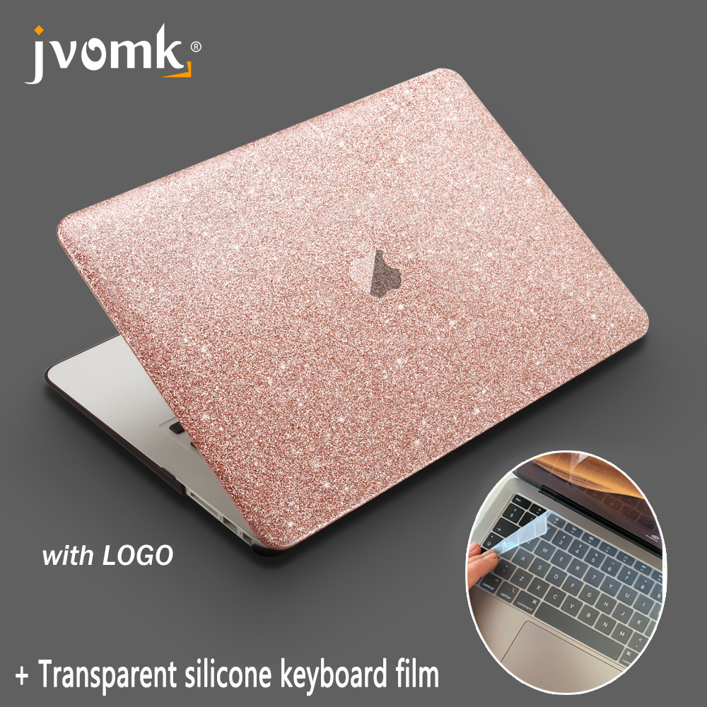 For Macbook Air 13.3 Pro Retina 13 15 Inch With Touch Bar New,  2017 2018 Shine Laptop  Case + Keyboard Cover