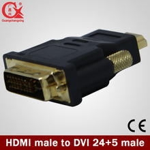 1080P HDMI Male to DVI-I 24+5 Dual Link Adapter DVI Converter for Computer Extension Adaptor Connectors