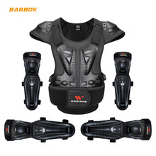 WOSAWE Adult Motocross Armor Jacket Suit Chest Spine Protection Gear Elbow Knee Guard MTB Motorcycle Full Body Protector Set