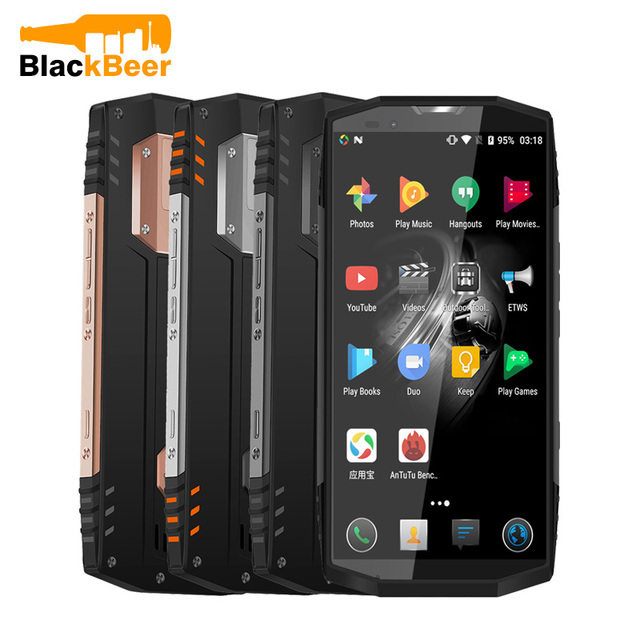 BLACKVIEW BV9000 PRO Mobile Phone IP68 Waterproof Tough Durable Smartphone 18:9 Android 7.1 Mobile Phone 6G+128G NFC CellPhone