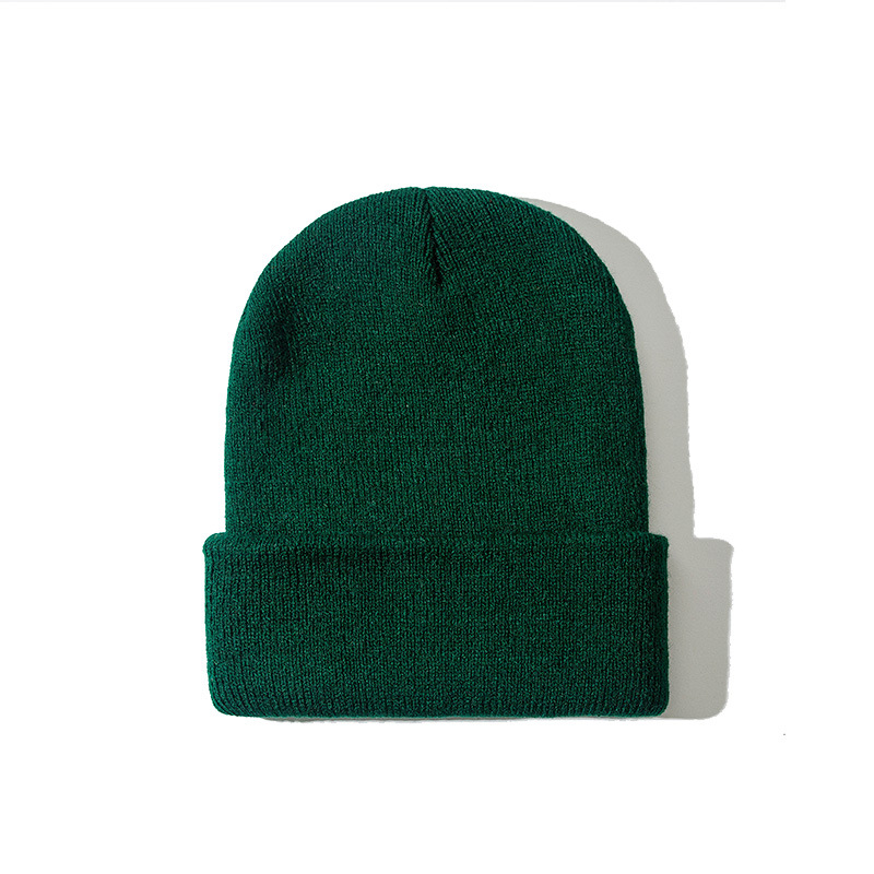 2019 Winter Hats for Woman New Beanies Knitted Fluorescent Hat Girls Autumn Female Beanie Caps Warmer Bonnet Ladies Casual Cap 3