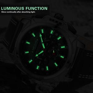 Image 3 - MEGIR 2020 New Relogio Masculino Watches Men Fashion Leather Band Sport Watch Quartz Business Wristwatch Reloj Hombre