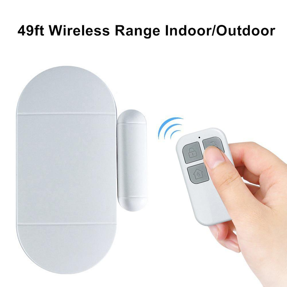 Newest High Quality MC-02 Door And Window Wireless Remote Control Alarm Home Security Window Gate Anti Theft Burglar Alarm