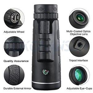 Image 2 - 40X Zoom télescope téléobjectif téléphone portable caméra objectif Smartphones lentilles + 3in1 Fisheye grand Angle Macro Lentes pour iPhone 11