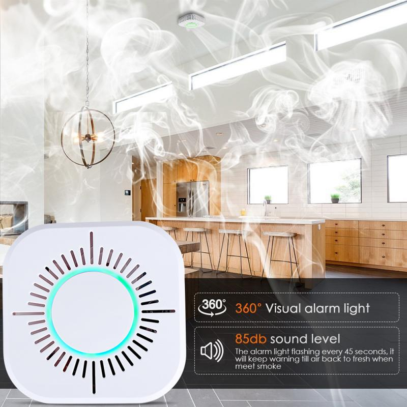 2019 New Precision Fire Smoke Sensor Detector Alarm Tester Smoke Alarm Home Security