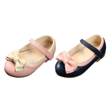Anti-slip Soft Sole Sneakers Shoes Baby Girl Breathable Bowknot Anti-Slip Casual Sneakers Toddler Soft Soled Walking Shoes