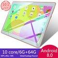 Лидер продаж 2020  Новый 10-дюймовый планшет Android 8 0  двойная карта  двойной режим ожидания  6 ГБ + 128 ГБ  большая память  умный планшет  4G телефон  п...