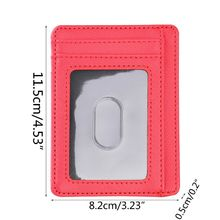 Ultra Slim RFID Blocking Minimalist Wallet Business Card Cover Case Super Thin