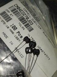 20 sztuk CDM srebrny Mica 500V27PF 5% mika kondensator 500V 27P 27pF/500V CM04ED270J03 p3mm w Układy scalone wzmacniaczy operacyjnych od Elektronika użytkowa na