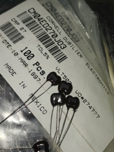 20PCS CDM Silver Mica 500V27PF 5% mica capacitor 500V 27P 27pF/500V CM04ED270J03 p3mm