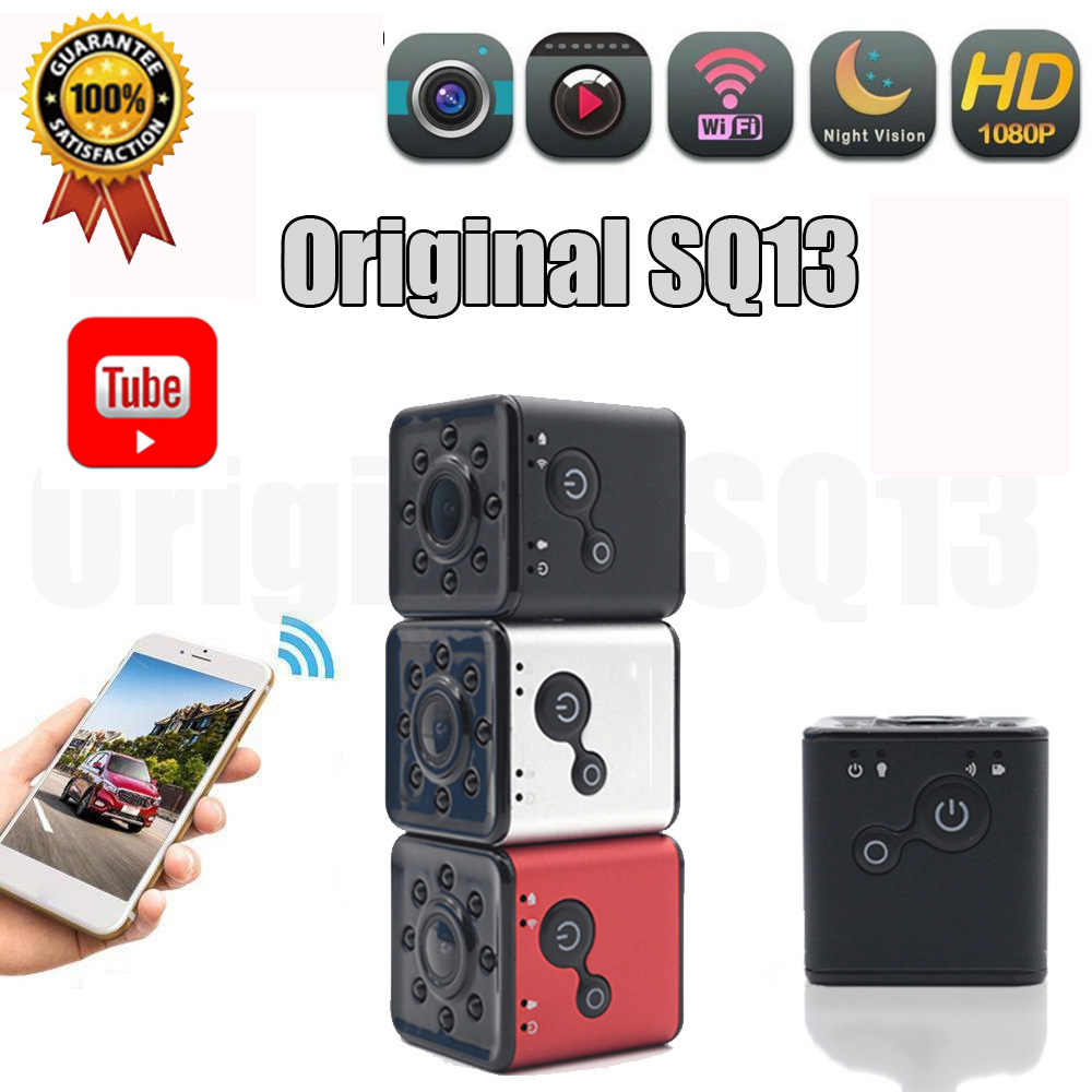 Mini Camera Wifi Cam SQ13 Full Hd 1080P Originele Sport Dv Recorder Nachtzicht Kleine Action Camera Camcorder Dvr pk Sq11 A9wifi