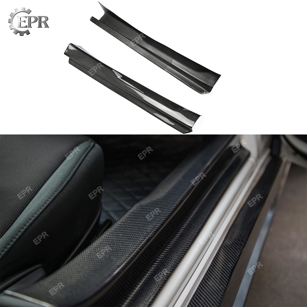 Carbon Interior Trim For Mazda MX5 ND5RC Miata Roadster Carbon Fiber Door Sill (Pair) Body Kit Tuning For Miata Racing Part|Bumpers| |  - title=