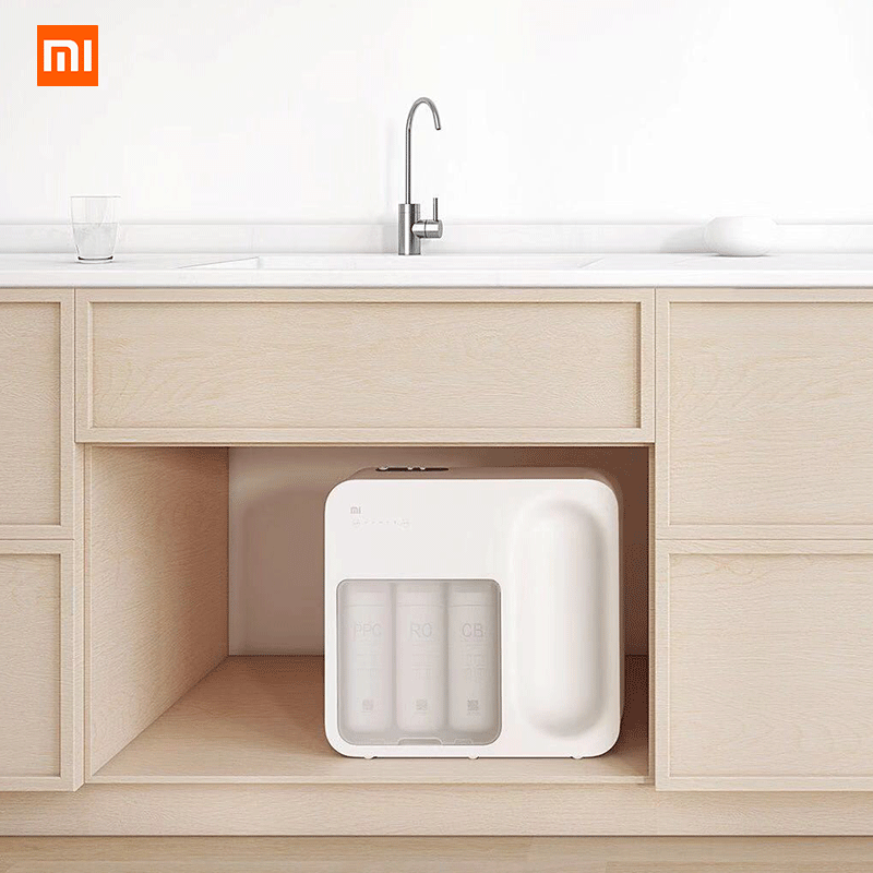 Xiaomi Water Purifier Reverse Osmosis Home Kitchen Water Filtration System App Control Water Quality Monitoring Filter|Water Filters| |  - title=