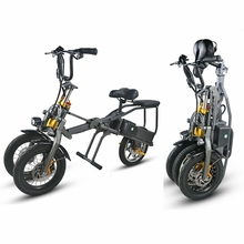 Lightweight 14 inch folding electric mobility scooter