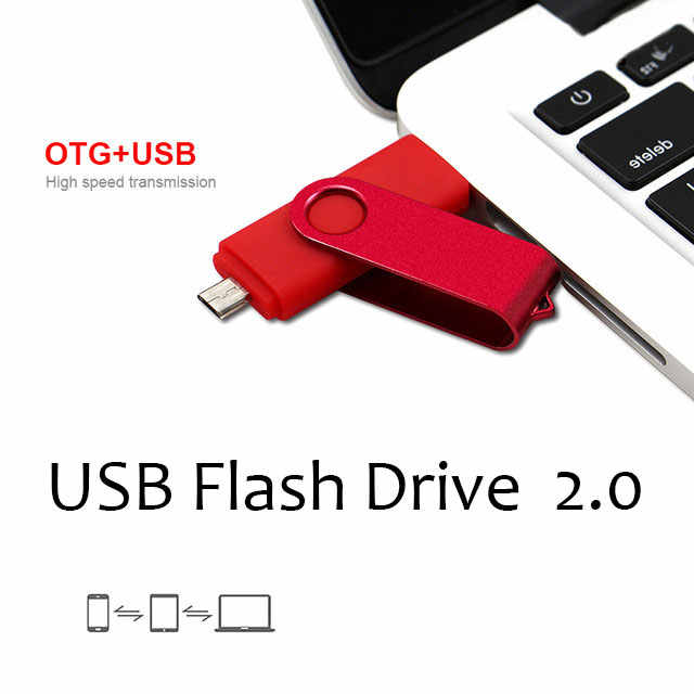 Clé USB pour Smartphone clé usb 2.0 lecteur de stylo OTG 4g 8g 16g 32g 64G 128G dispositifs de stockage