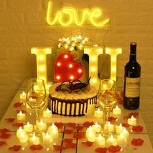 24Pcs Flickering LED Tealights Remote Control Battery Powered Candles For Home Party Christmas Decoration Flameless