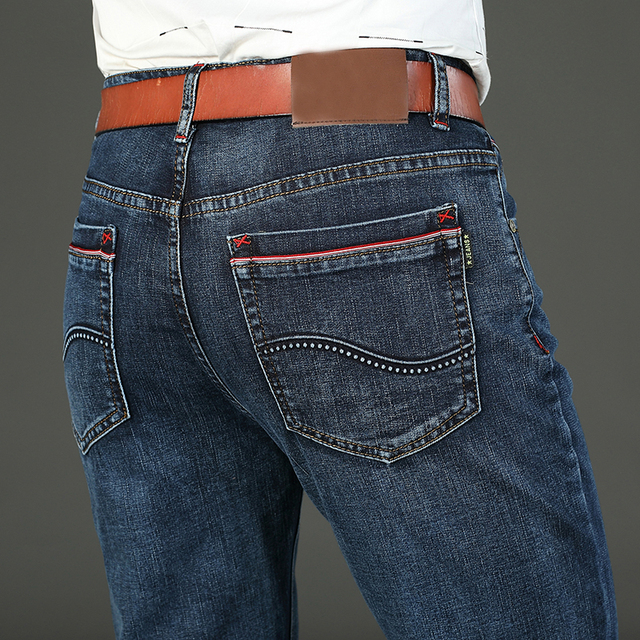 Men's Stretch-fit Thin Jeans