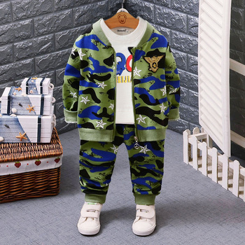 IENENS 3PC Kids Baby Boys Girls Clothes Clothing Sets Infant Boy Coat + T-shirt + Pants Outfits Suits Child Sports Tracksuits bibihou girls clothing set sport suit clothes navy style girls sports suits teenage kids tracksuits sportswear jumpsuit boys