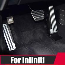 Автомобиль ускоритель тормозная педаль подножки плиты покрытия стальных прокладок внутренних ремонт для Инфинити G25 варианты G35 и G37 Q50 и Axis серии Q60 EX25 QX50 и QX70