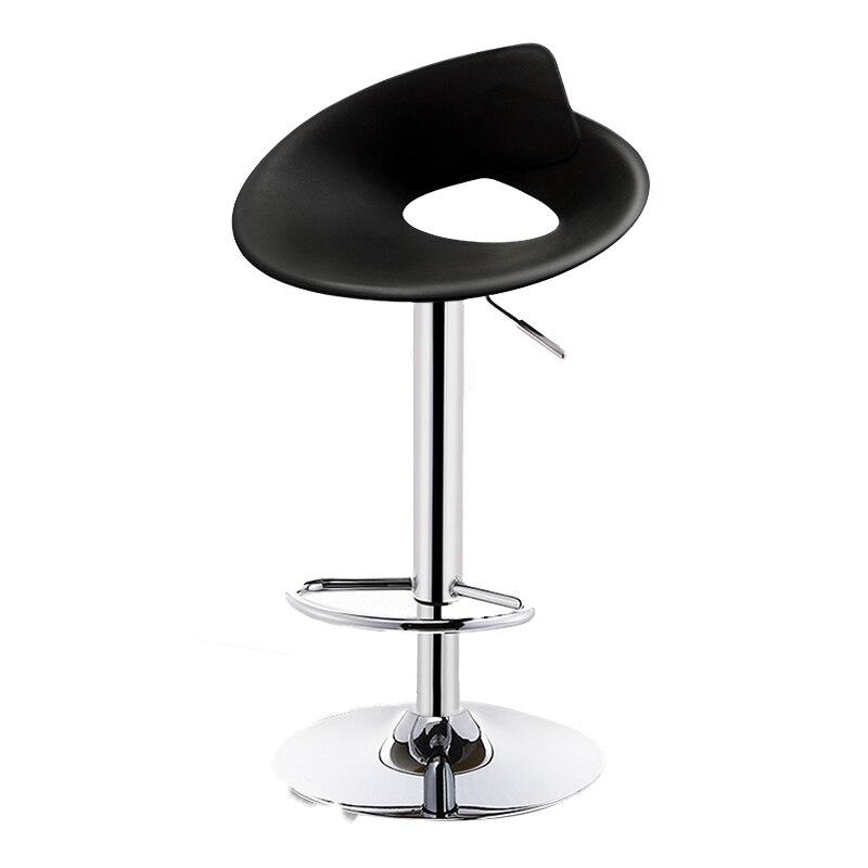 Bar Chair Lift Modern Minimalist High Stool Creative  Commercial Bar    Back