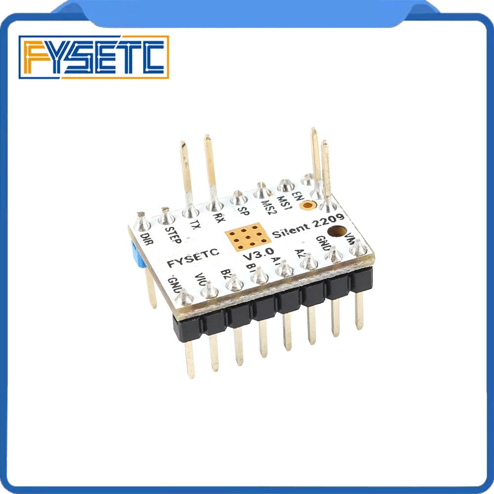 Image 2 - 4pcs TMC2209 v3.0 Stepping Motor Driver 3d Printer Parts  Stepsticks Mute Driver 256 Microsteps Current 2.8A Peak VS TMC22083D  Printer Parts