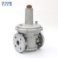 Industrial furance regulator gas combustion system gas lpg pressure regulator