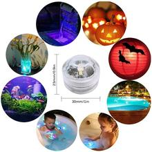 10X Waterproof Remote Control Colored LED Light  Swimming Pool Light with 21 key remote control waterproof dive candle light