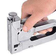 3 em 1 mão resistente manual pistola de pregos 6