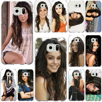 For Samsung Galaxy Note 2 3 5 8 9 S2 S3 S5 Mini S6 S7 S8 S9 S10 Edge Plus Lite Shell Soft TPU Phone Cases Vanessa Hudgens