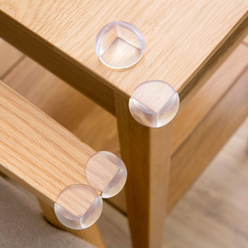 Baby Safety Home Corner Protector Child Anti-collision Furniture Table Edge Guards Protector Baby Protector 4PCS
