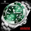 2021 PAGANI Design New 40mm Men Luxury Automatic Mechanical Wrist Watch Men Stainless Steel Waterproof Watch Relogio Masculino 1