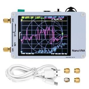 Image 2 - Analyseur de réseau vectoriel Nano VNA 50 KHz 900 MHz écran tactile numérique ondes courtes MF HF VHF analyseur dantenne UHF onde debout