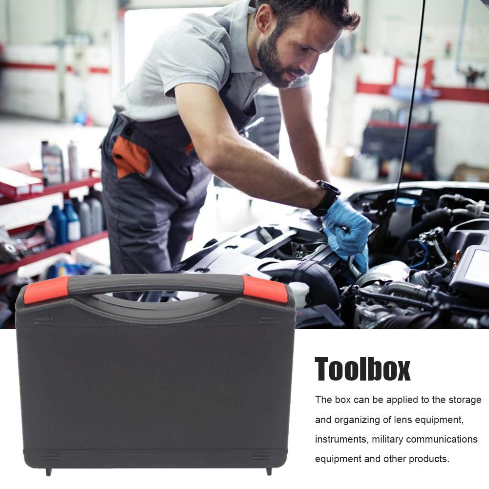Safety Protection Box Portable Tool Box Hardware Storage Case Organizer For Screws Nuts And Bolts Home Small Tool Storage