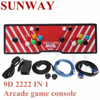 Built In Game Box 9D 2222 In 1 Arcade Game Console 2 Player Joystick Buttons Game Machine Support VGA/HDMI USB Output