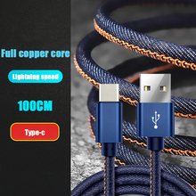 USB Type C Cable for Xiaomi Redmi Note 7 Mi 9 Fast Charging Data Sync Samsung Galaxy S9 Oneplus 6t Pro Type-C