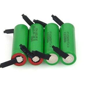 Image 5 - VariCore batería recargable de alto drenaje 30A, 100% Original, 3,6 V, 18650 VTC4, 2100mAh, VC18650VTC4 + hoja de níquel de DIY