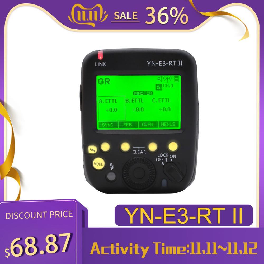 YONGNUO R3RT YN-E3-RT II TTL Disparador De La Radio Speedlite Transmisor Como ST-E3-RT Para Canon 600EX-RT... YONGNUO YN600EX-RT