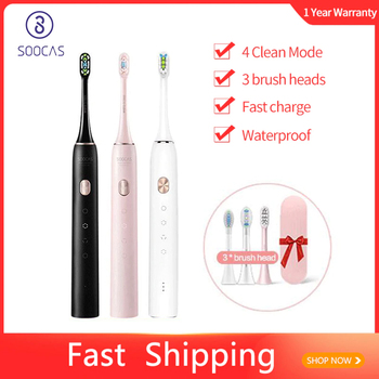 SOOCAS X3U Sonic Electric Toothbrush Ultrasonic Automatic Upgraded USB Rechargeable Fast chargeable Adult Waterproof Tooth Brush - discount item  49% OFF Personal Care Appliances