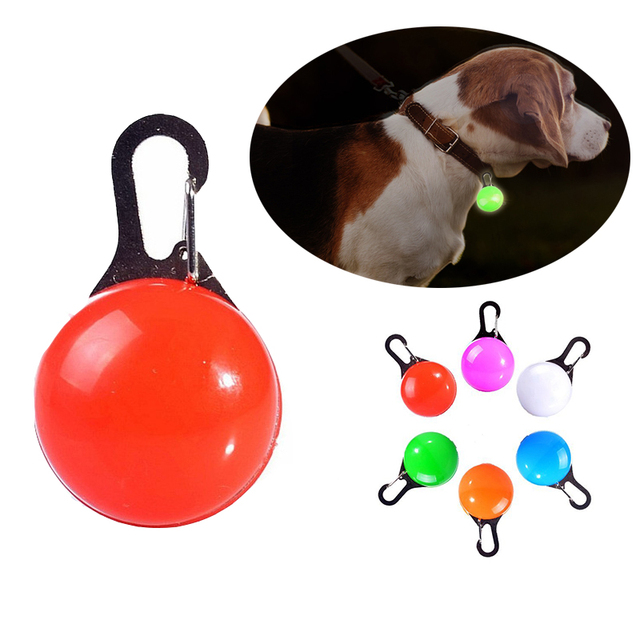 Collars, Harnesses & Leashes Dogs New Arrivals LED Pet Collar Pendant  My Pet World Store